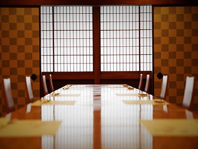 和味旬彩 別館4階 座敷椅子テーブル