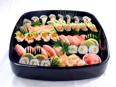 かに寿司6種盛り 白鷺館