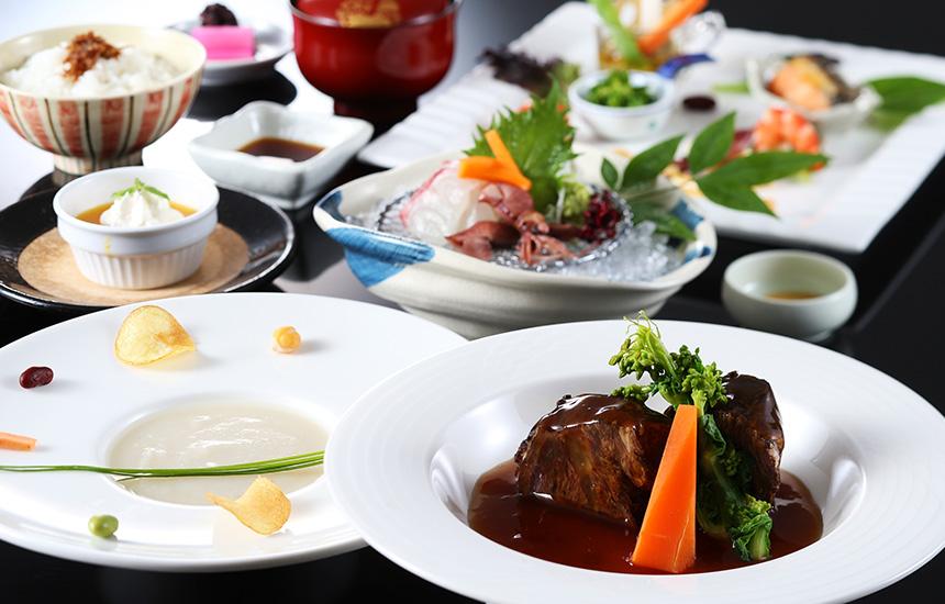 有機野菜・鮮魚牛ほほ肉を使ったお気軽コース 和味旬彩