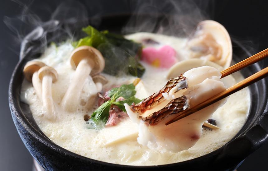 春の和楽膳 海鮮豆乳小鍋 和楽