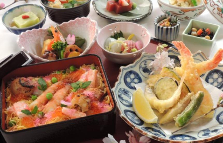 花ちらし寿司御膳 和楽